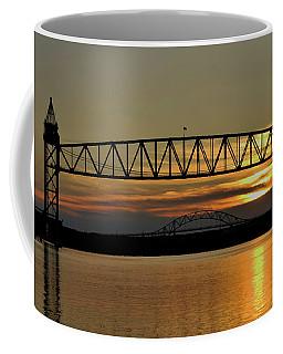 Railroad Bridge Over The Canal Coffee Mug