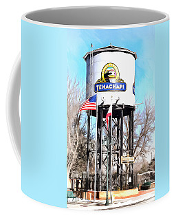 Coffee Mug featuring the photograph Railroad Park Tehachapi California by Floyd Snyder