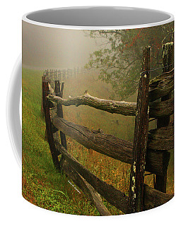 Rails Of Time Coffee Mug by Dale R Carlson
