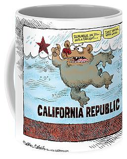 Rain And Drought In California Coffee Mug