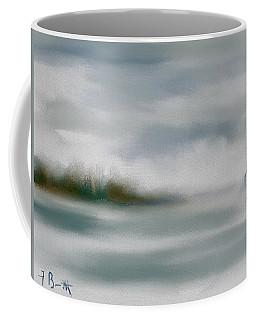 Rain And Fog At Hilton Head Island Coffee Mug