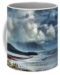 Rain Clearing Kaneohe Bay Coffee Mug