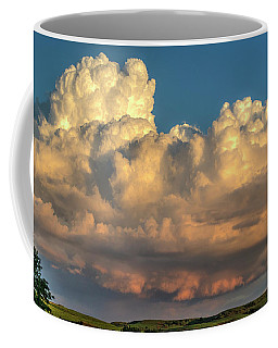 Rain Clouds Over The Prairie Coffee Mug