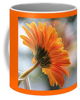 Rain Drops At My Window Coffee Mug by Angela Davies