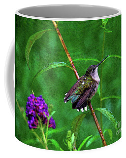 Coffee Mug featuring the photograph Rain Drops Keep Fallen On My Head by Sue Melvin