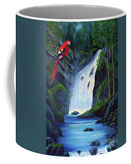 Rain Forest Macaws Coffee Mug