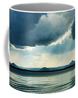 Rain On The Glass Mountains Coffee Mug
