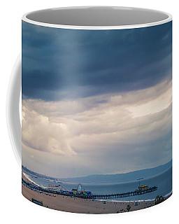Rain Over The Bay - Panorama Coffee Mug