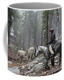 Rain Riding Coffee Mug