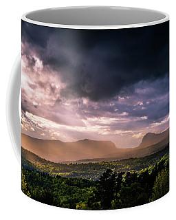 Rain Showers Over Willoughby Gap Coffee Mug