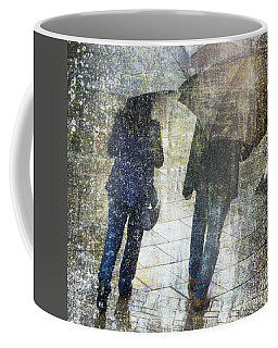 Rain Through The Fountain Coffee Mug