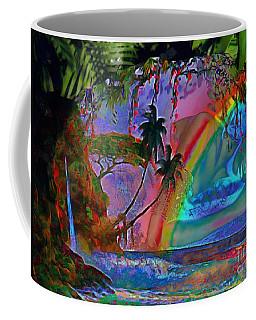 Rainboow Drenched In Layers Coffee Mug