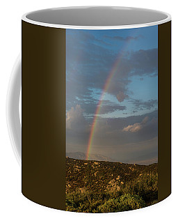 Rainbow Above Lagunas Coffee Mug