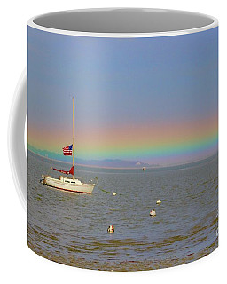 Rainbow Coffee Mug by Amazing Jules