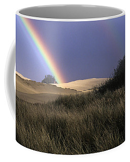 Rainbow And Dunes Coffee Mug