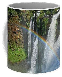 Rainbow At Iguazu Falls Coffee Mug