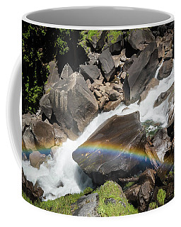 Rainbow At Vernal Falls- Coffee Mug