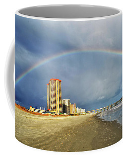 Rainbow Beach Coffee Mug by Kelly Reber