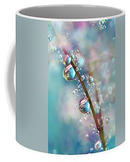 Rainbow Blue Smokey Drops Coffee Mug