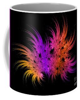 Rainbow Bouquet Coffee Mug by Geraldine DeBoer