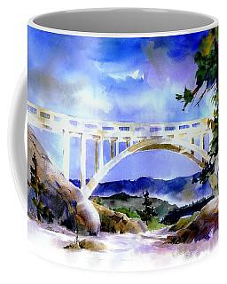Rainbow Bridge Above Donnerlk#2 Coffee Mug