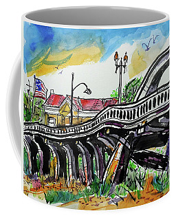 Rainbow Bridge Roseville Coffee Mug