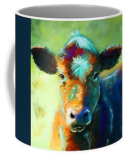 Rainbow Calf Coffee Mug