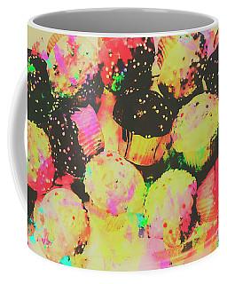 Rainbow Color Cupcakes Coffee Mug