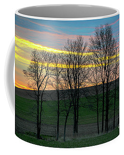 Rainbow Color Tree Horizon Coffee Mug