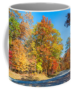 Rainbow Colored Drive Coffee Mug