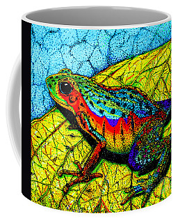 Rainbow Frog Coffee Mug by Nick Gustafson