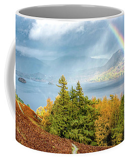 Rainbow Gold Coffee Mug