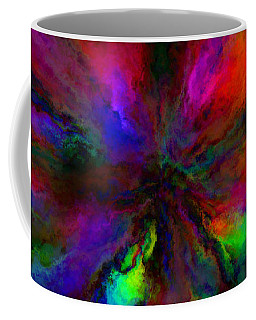 Rainbow Grunge Abstract Coffee Mug