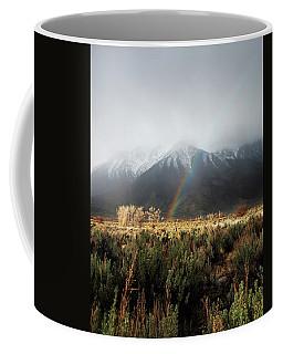 Rainbow In Eastern Sierra Nevadas Coffee Mug