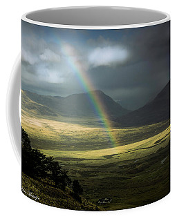 Rainbow In The Valley Coffee Mug by Andrew Matwijec