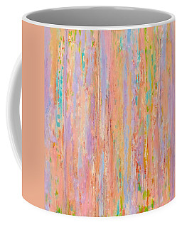 Coffee Mug featuring the painting Spring Fusion by Irene Hurdle