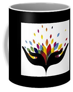 Rainbow Leaves Coffee Mug by Now