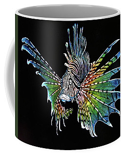 Rainbow Lion Fish Coffee Mug