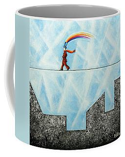 Rainbow Man Coffee Mug