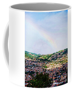 Rainbow Over Funchal Coffee Mug
