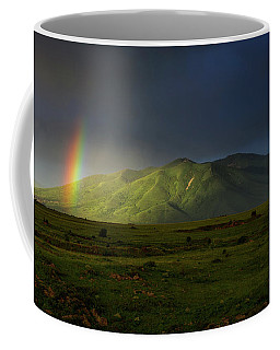 Rainbow Over Mount Ara After Storm, Armenia Coffee Mug