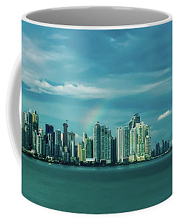 Rainbow Over Panama City Coffee Mug