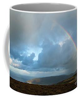 Rainbow Over Porlock Hill Coffee Mug
