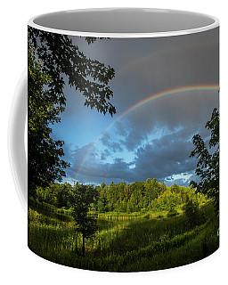 Rainbow Over Uxbridge-4815 Coffee Mug