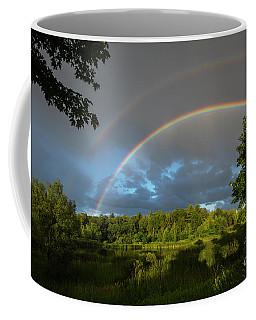 Rainbow Over Uxbridge-4828 Coffee Mug