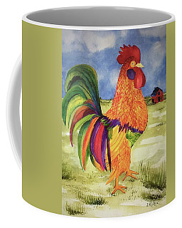Rainbow Rooster Coffee Mug