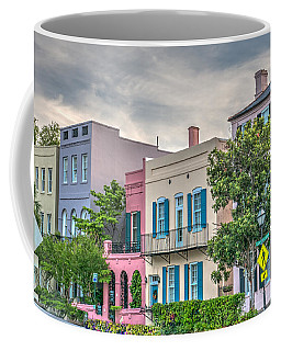 Rainbow Row II Coffee Mug