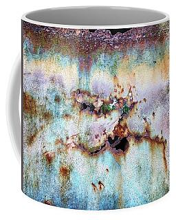Rainbow Rust Coffee Mug by Karen Stahlros