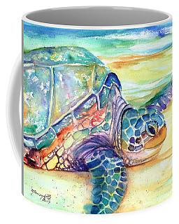 Rainbow Sea Turtle 2 Coffee Mug