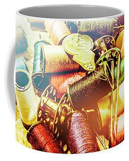 Rainbow Sew Coffee Mug